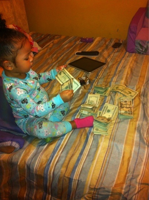 ;) luxury cute money adorable kids