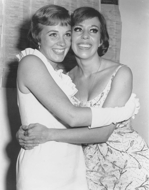 retrogirly:  Julie Andrews and Carol Burnett