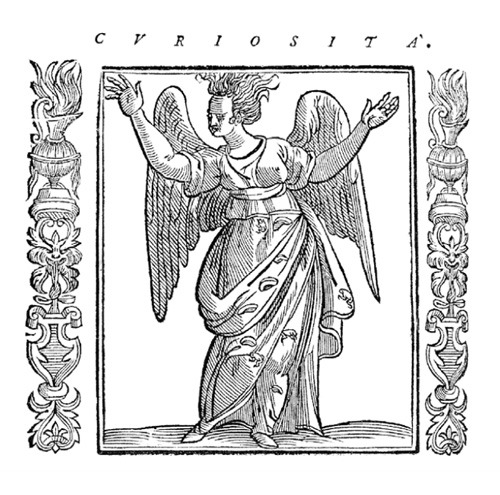 In his popular emblem book Iconologia (1593) showing classical personifications of the human qualities, the Italian author Cesare Ripa depicted curiosity as a wild, disheveled woman, driving home the message in the caption: 'Curiosity is the unbridled desire of those who seek to know more than they should.' A brief history of science vs. scripture and the difference between curiosity and wonder.