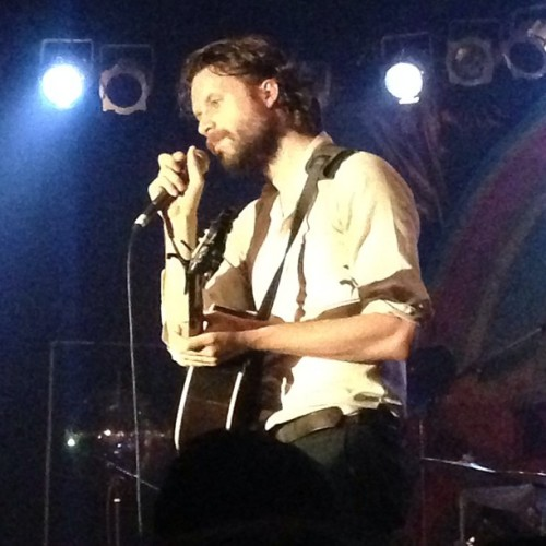 The fabulous and oh-so-talented J. Tillman of #FatherJohnMisty (at Cat's Cradle)