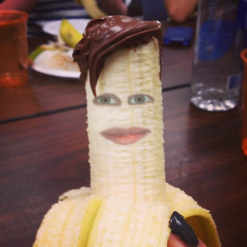 spudhero:  I did a thing. It's Matt Smith as a banana.