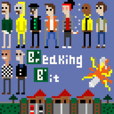 breakingbadamc:  Breaking Bit  My Site