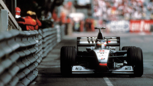 timewastingmachine:  Mika Hakkinen | Mclaren MP4/13 | 1998 Monaco Grand Prix