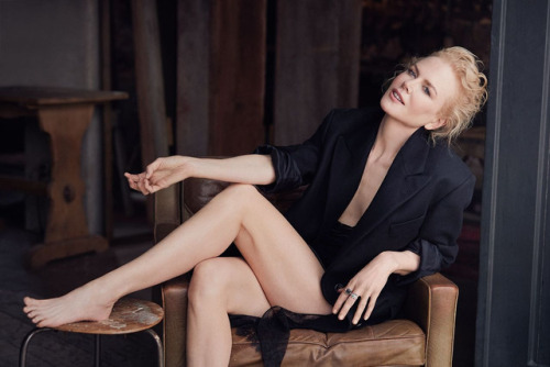 Nicole Kidman, photographed by Will Davidson for InStyle, July...