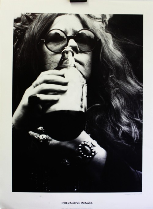 Janis Joplin, Interactive Images, Orig 1970's poster, Photo by Rant Jacobs