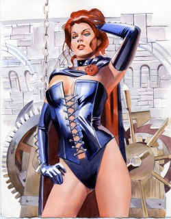 Jean Grey as Black Queen