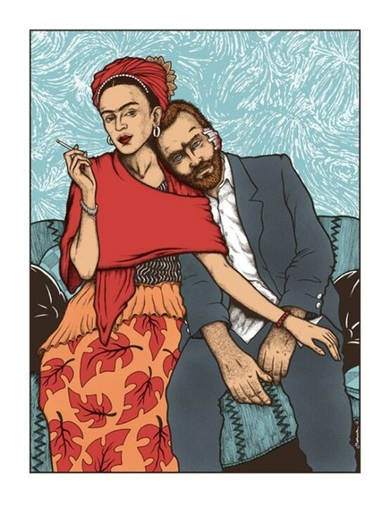 Frida y VanGogh.