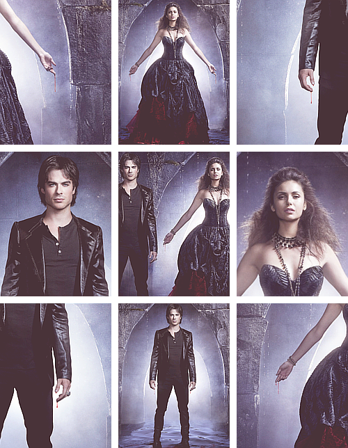 Ian x Nina - TVD Season 4 [2013] Marketing Photos