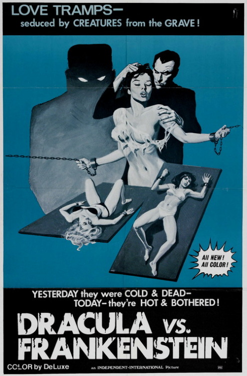 monsterman:  Dracula vs. Frankenstein (1971)