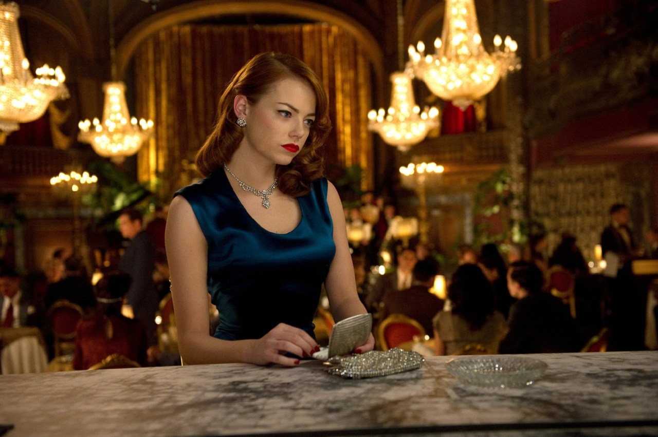 Emma Stone Gangster Squad stills More pics of Emma Stone on SwaGirl.com
