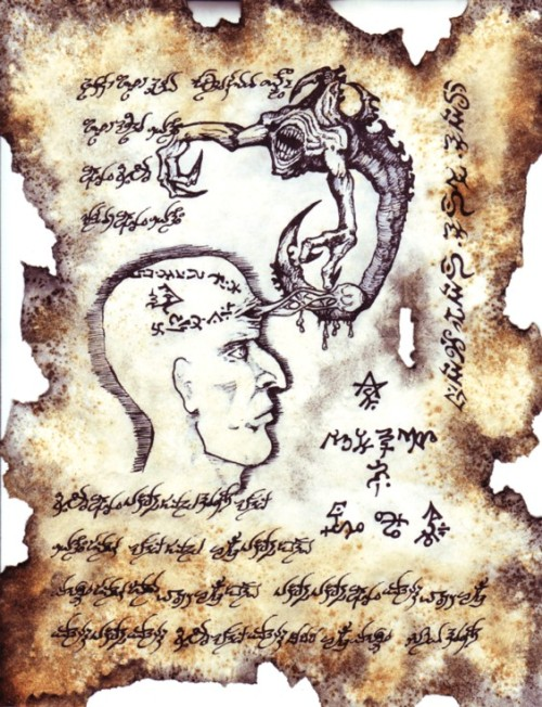 a-dangerous-mind:  Pages from the Necronomicon