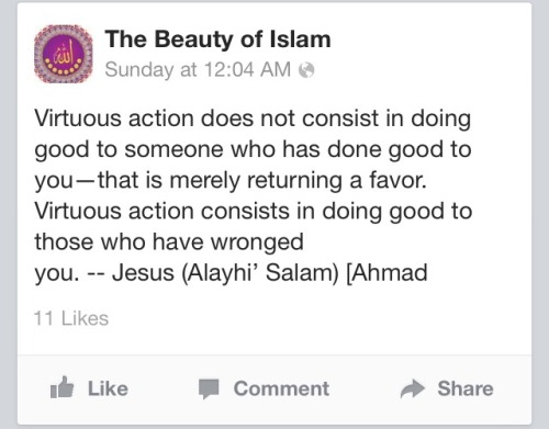 we are also on facebook! just search: beautyofislam 💗
