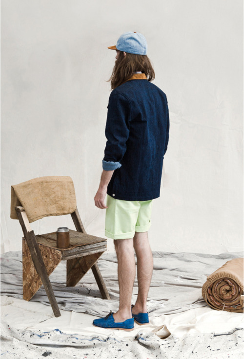 wearenapoleon:  hixsept x variations ss 2012 lookbook.