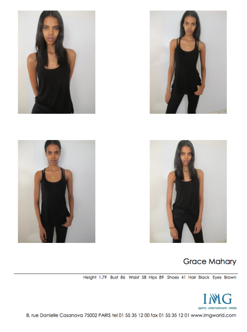 Grace Mahary at IMG