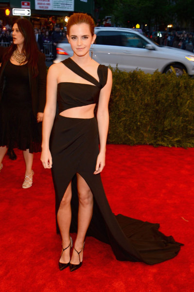 journaldelamode:  Emma Watson in Prabal Gurung at MET Ball 2013.