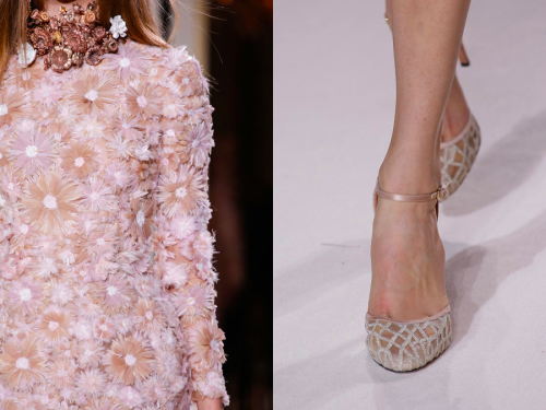 Details at Giambattista Valli Haute Couture Spring/Summer 2013.