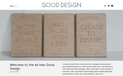 siteinspire:  Good Design http://bit.ly/12ExzYj