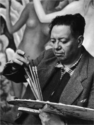 People Who Studied Abroad #594:Diego Rivera, painter  From: Mexico  Studied: In his early 20s, he was sponsored by the governor of the state of Veracruz (Teodoro A. Dehesa Méndez) to study in Europe.  He studied with Eduardo Chicharro in Madrid, Spain, then studied in Paris, France with Amedeo Modigliani among others.  He also studied Renaissance frescoes in Italy.