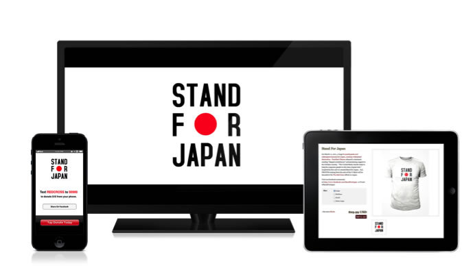 #StandForJapan In a heartbeat everything can change. Substance spearheaded a global movement, #StandForJapan, among the artists from around the world. In 24 hours the #StandForJapan received millions of subscribers to it's community page.  Using our community of influencers and an SMS text to donate program,  we began posting live updates, sharing content and creating art which was sold in the Substance Studio. All our efforts raised over $500,000 in a weekend for the Red Cross.