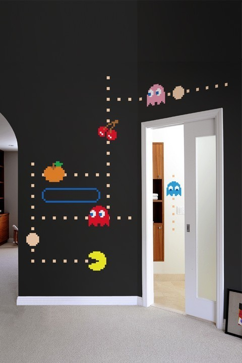 pac-man decor (via Kids' room / Whimsical room)