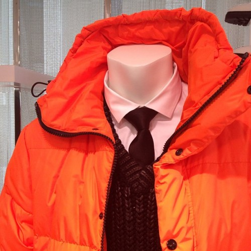 gqfashion:  Channel Orange for #Fall2013 #MKMens @michaelkors