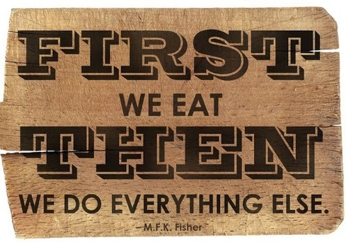 We couldn't agree more! Have a wonderful weekend and happy eating!
