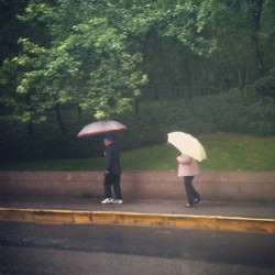 check out this cute pair :) #shanghai #rainyday