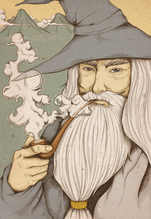 pacalin:  Gandalf Created by Madelein Araya
