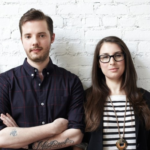 @philleif & I are apparently totally unimpressed about being in @Refinery29 and/or changing the luxury game  (at PlayAPI)