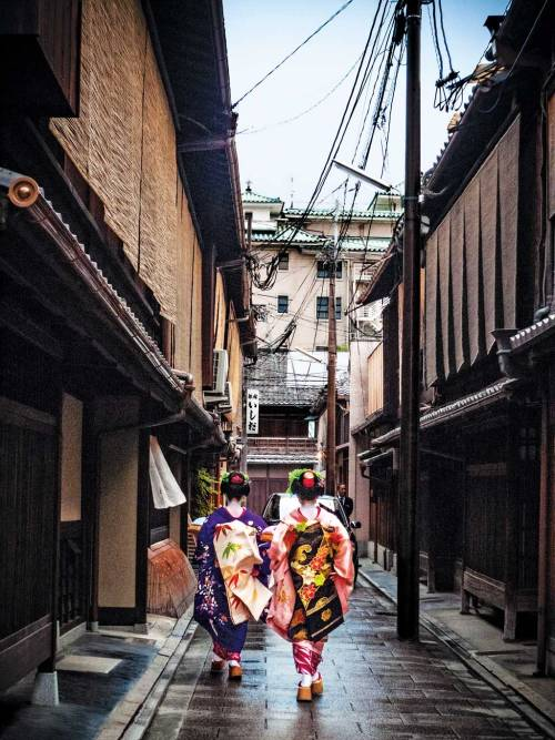 condenasttraveler:  Japan Travel Guide | Geishas in Kyoto