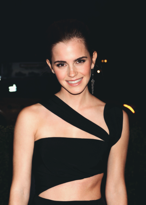 "Emma Watson at the ""PUNK: Chaos to Couture"" Costume Institute Gala in New York City (May 6)"