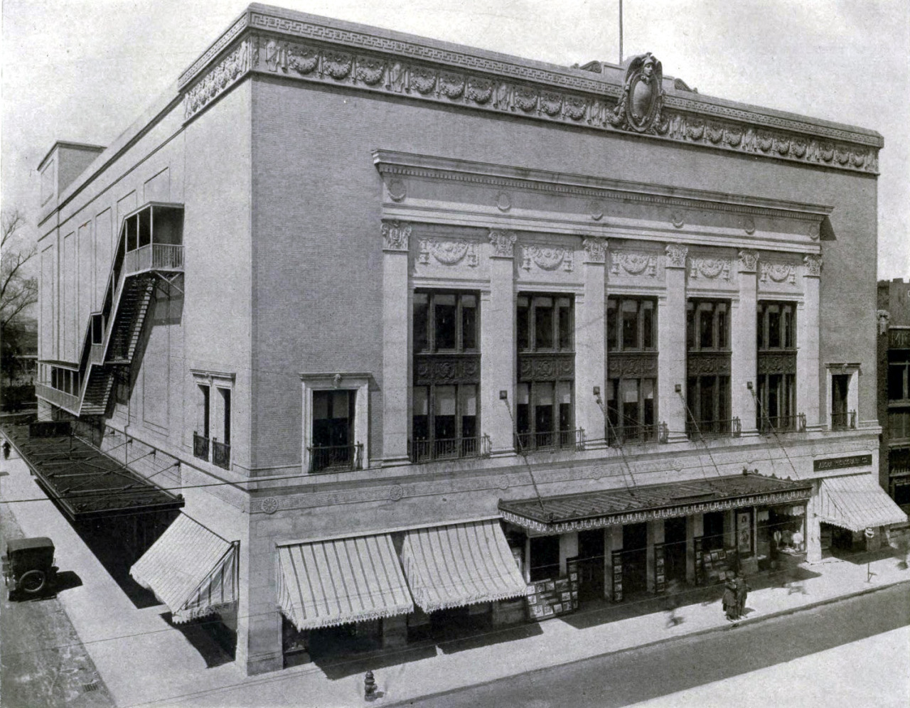 The Orchestra Hall, Detroit