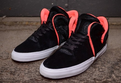 Supra Falcon (Black/Neon Orange) — Reminds me of the Jasper's.