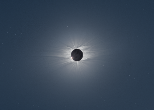 photojojo:  Total Solar Eclipse Captured From the Middle of the Ocean In June of 2009, a rare total solar eclipse blanketed certain portions of the planet in total darkness. Czech photographer Miloslav Druckmüller traveled to the middle of the Pacific ocean to the Marshall Islands to capture the incredible event. To create the photos above, he compiled over 40 images shot from two different cameras. via Notcot