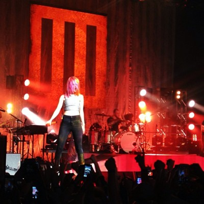 Woah!!!!! Paramore concert @yelyahwilliams You're amazing 😊 thanks for an awesome show tonight!! ❤ #paramore#concert#sanfrancisco#thewarfield @markgreyes @ssshushsss @mypiclife @le5ahanne @mikiyo @sneaks531  (at The Warfield Theatre)