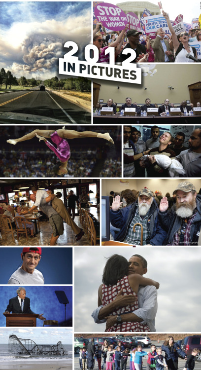 Here are the 12 most memorable images of 2012.