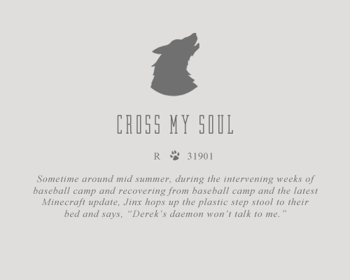 Cross My Soul