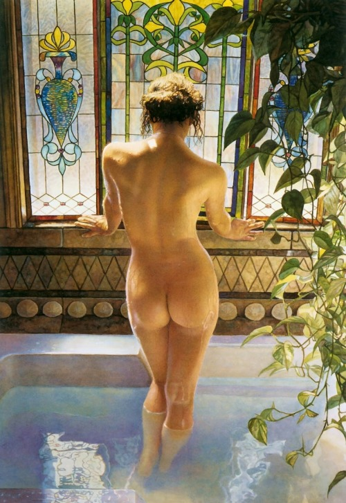 vitazur:  Steve Hanks - Morning bath