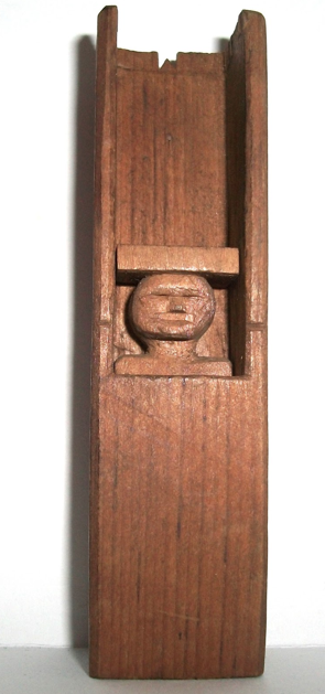 Folk Art Carved Man in a Coffin Collection Jim Linderman  HERE