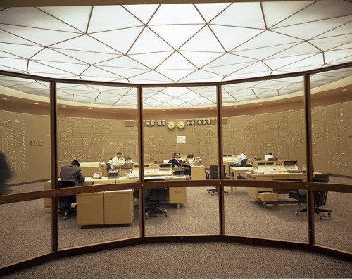City Light Power Control Center, 1968 by Seattle Municipal Archives on Flickr.