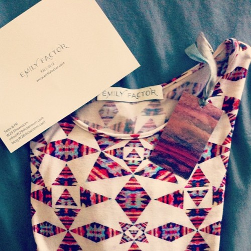 Add #emilyfactor to your arsenal of designer threads! Prints are legit, style to dye for babes @emilyfactor #fashion #blog #tumblr #designer