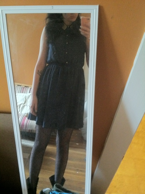 I have my evaluation soon and I'm wearing my new dress ( ̄▽ ̄)