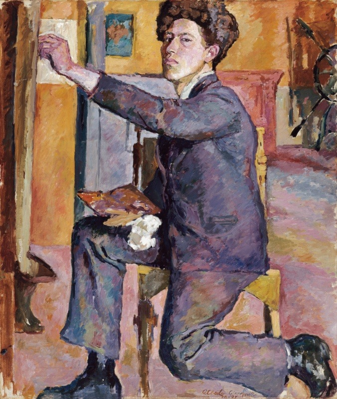 artistandstudio:  Alberto Giacometti, Self-Portrait, 1921, at Fondation Beyeler.