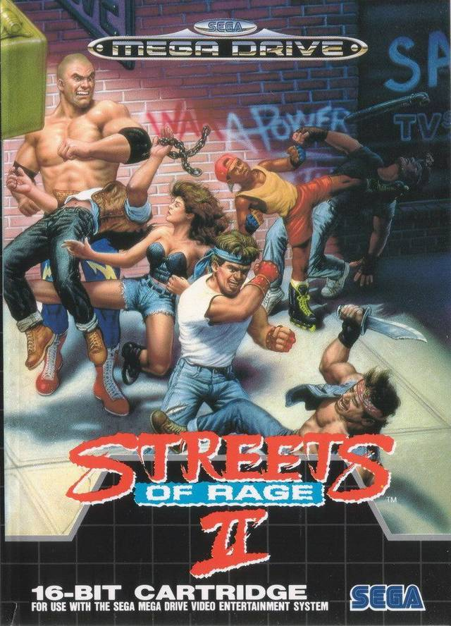 game-cover:  Streets of Rage 2 Year : 1992 Platform : Genesis