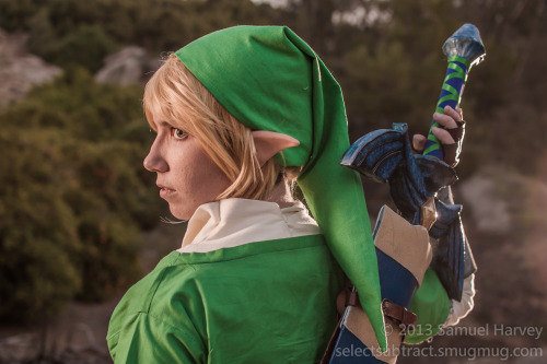 …who's there? Skyward Sword Link by Arcane Cosplay Photo by Samuel Harvey // selectsubtract