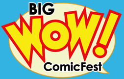 Big WOW! ComicFest - The Original Artist Friendly Convention - Returns May 18-19 2013. 2 Days Of Comics, Art, Cosplay, Anime/Manga & Pop Culture Fun! Hey guys! I'll be helping out my uncle with his Toy Display business Blazon Displays, booth 514. I'm always up with meeting Tumblr friends so if you're around the area, drop by to say hi. I'll also be roaming around, filling my bag with indie comics and making friends! Cheers!