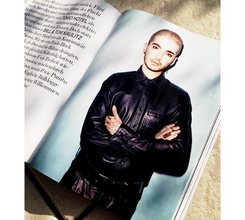 Sneak Preview: das große Tokio Hotel INTERVIEW und Editorial von Brad Elterman