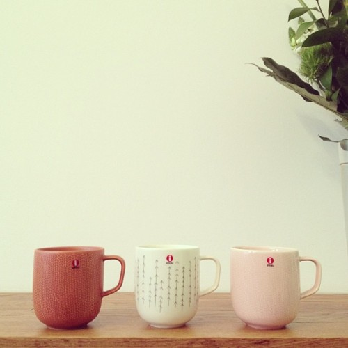 Iittala Sarjaton mugs now in stock. $18. Designed by Musuta.