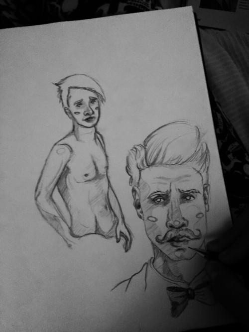 Current sketchbook impressions.