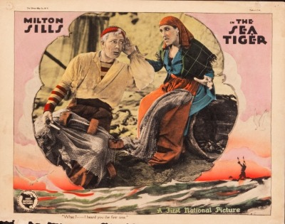 Lobby card for The Sea Tiger (1927). Sold here.